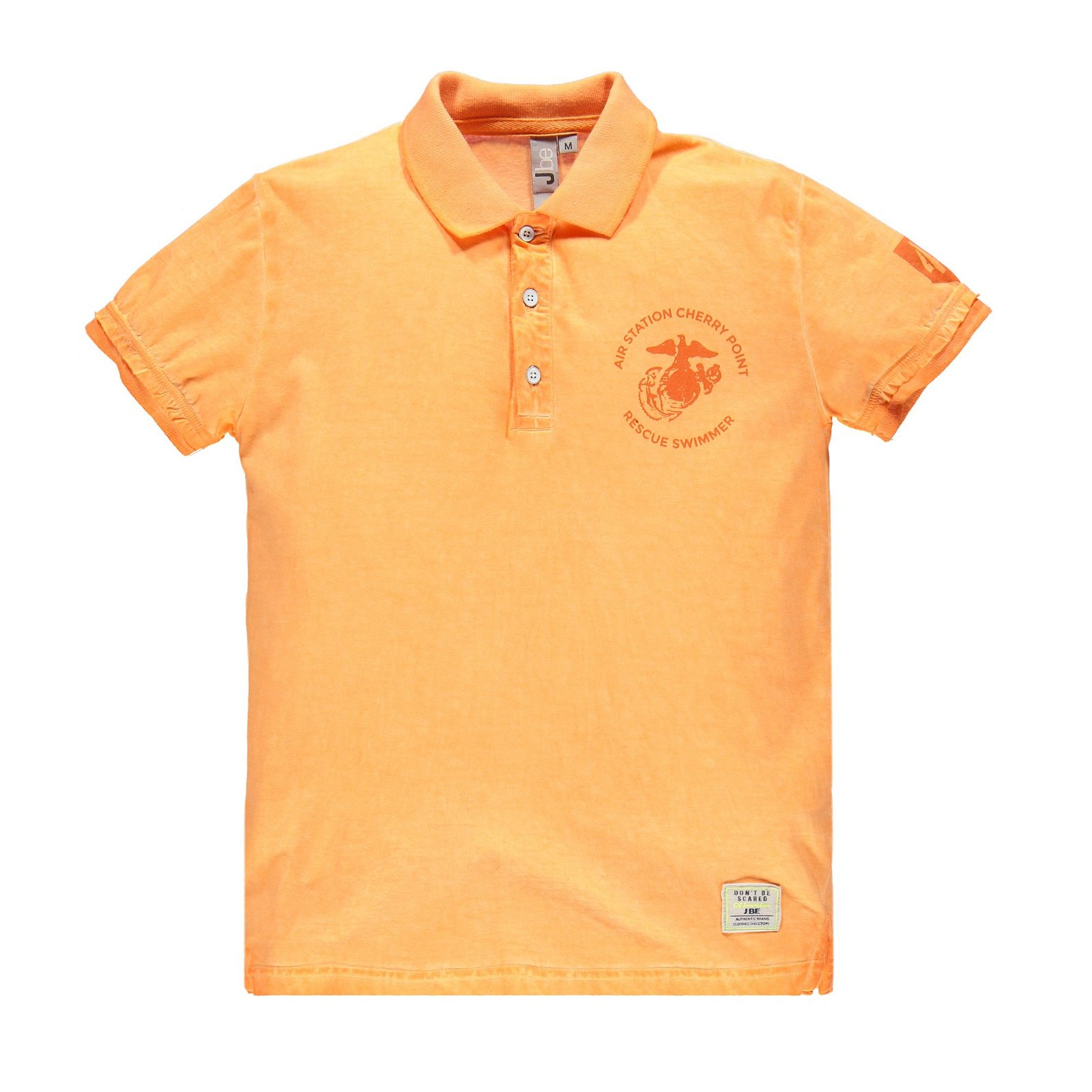 Polo jersey cold dyed
