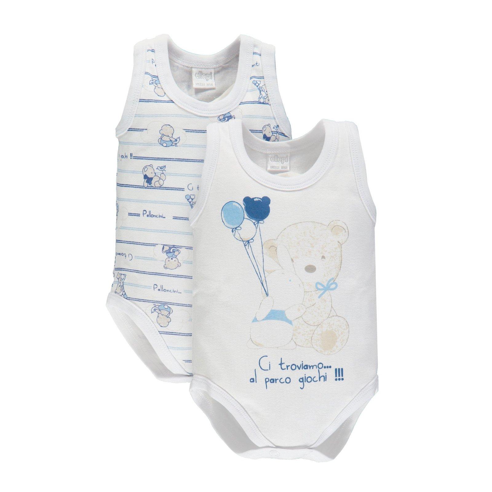 Set 2 body spalla larga neonato