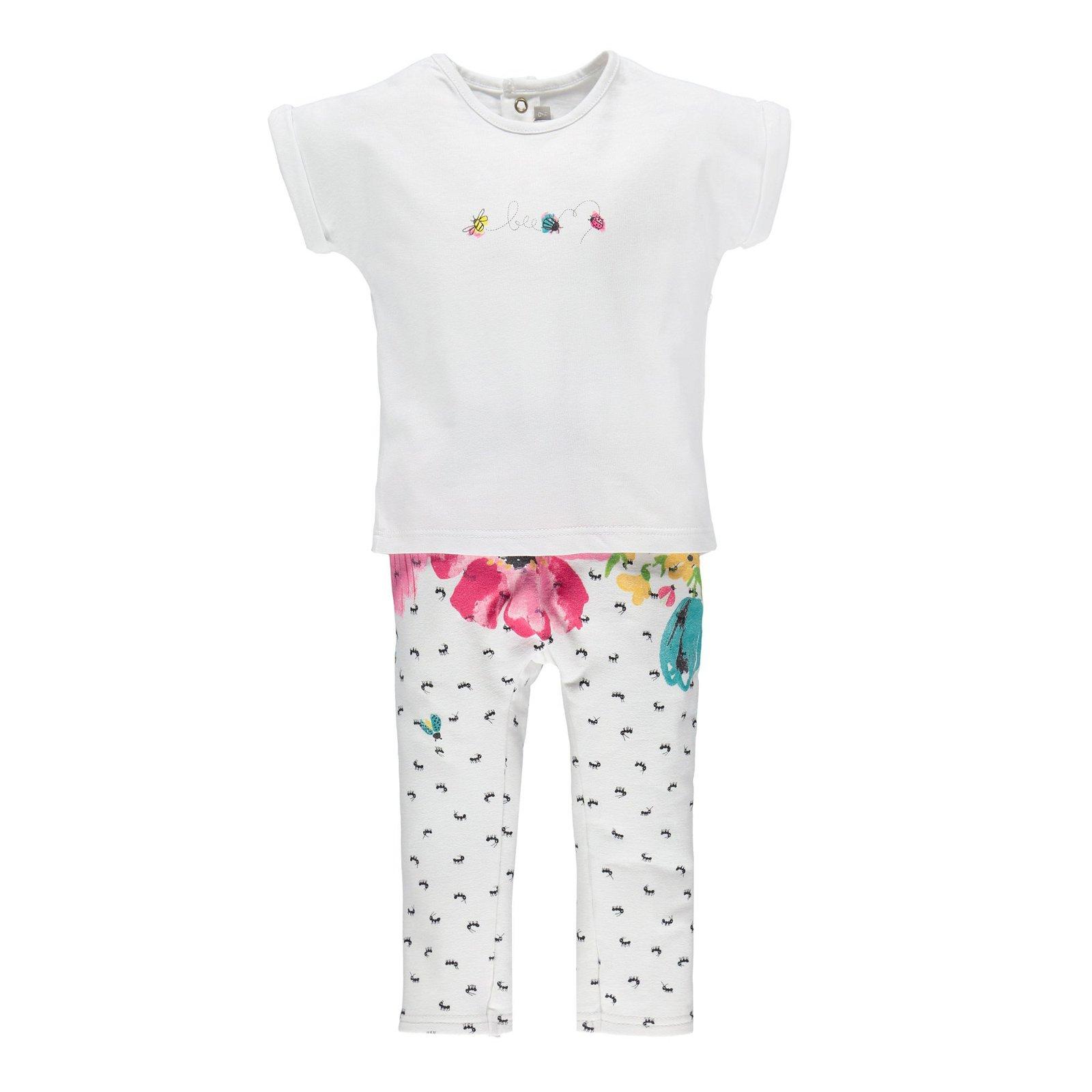 Completino neonata t-shirt + leggings
